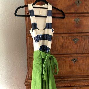Julie Brown Belted Dress